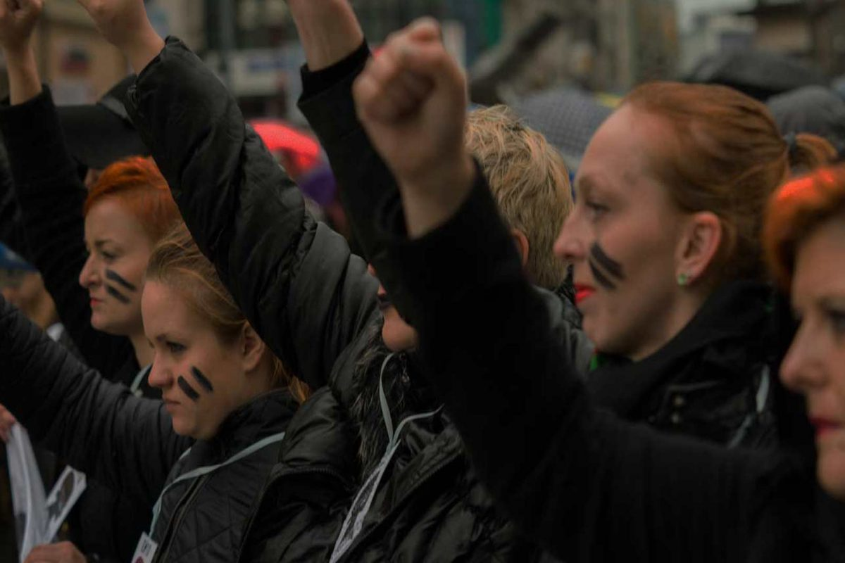Alaska Women's March promoted by Planned Parenthood